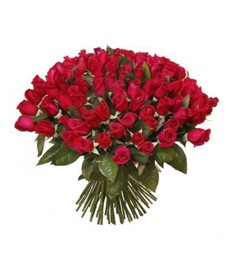 Букет 101 Кенийская роза 35см(выбрать цвет)
