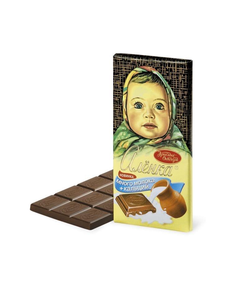 Шоколад  Аленка молочный 100г