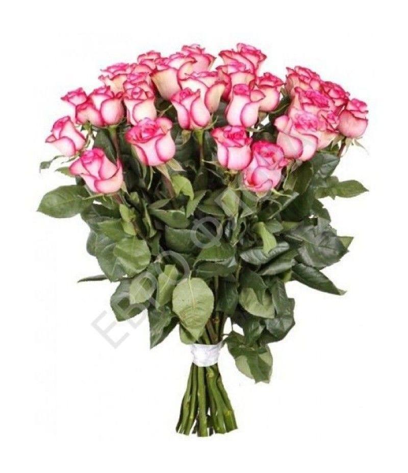 """Букет 25 роз """"Carousel"""" (50см)"""