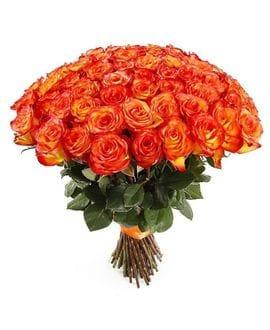 """Букет 51 роза """"High Magic""""(40см)"""