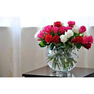 Как сохранить розы в вазе>
