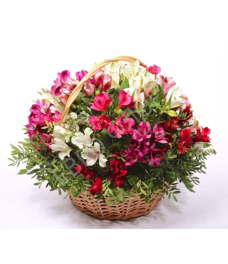 Корзина с цветами №5