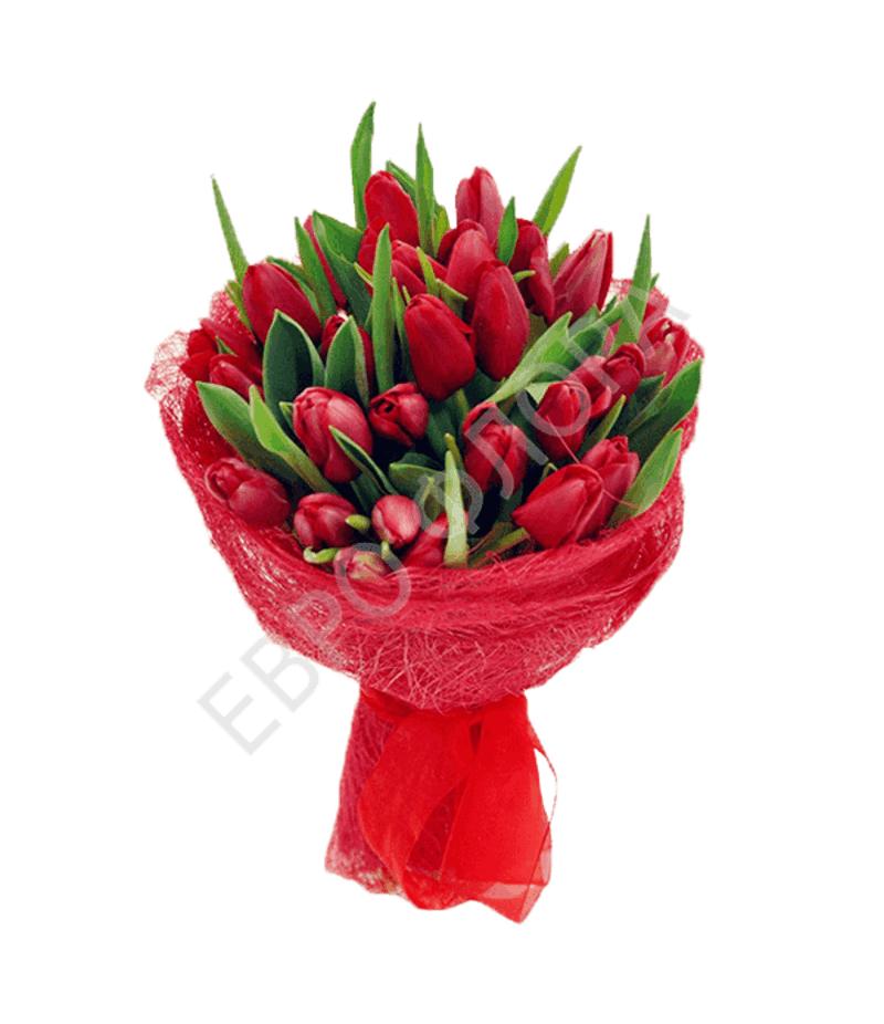 Букет 27 Тюльпанов