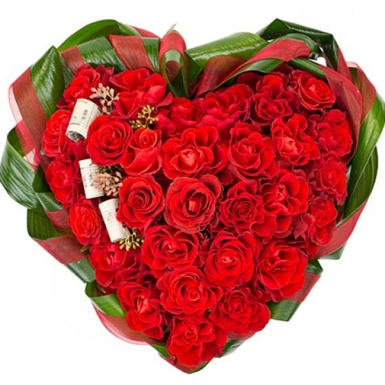 Оранжевый букеты из роз в виде сердца фото, розы купить маленькие